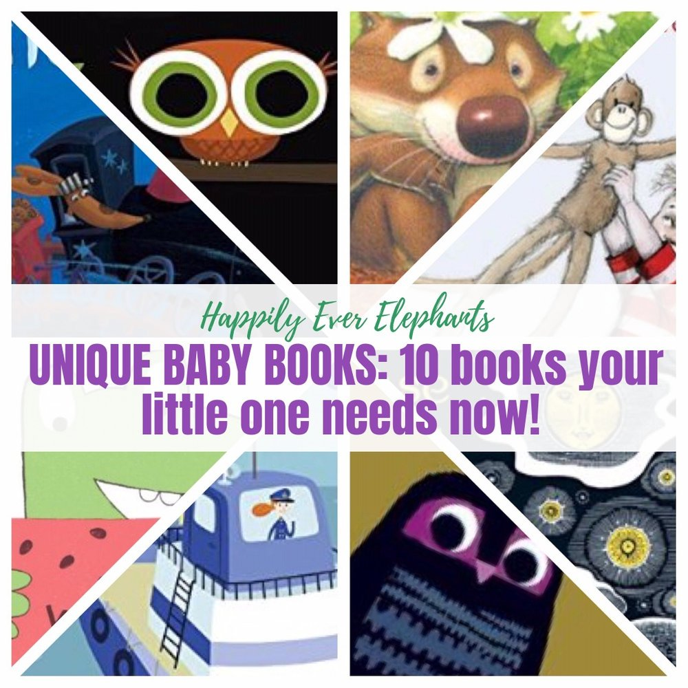 10 Unique Baby Books, including unique board books, your babies and toddlers need now!.jpg