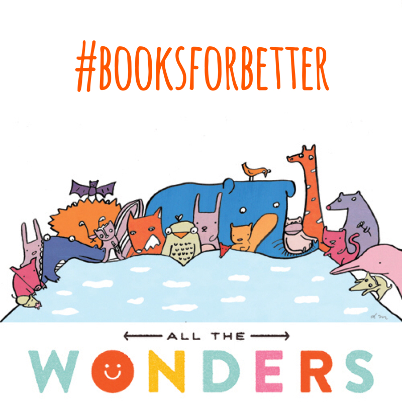 This beautiful illustration was created by Deborah Marcero for All The Wonders in connection with the #BooksForBetter initiative.