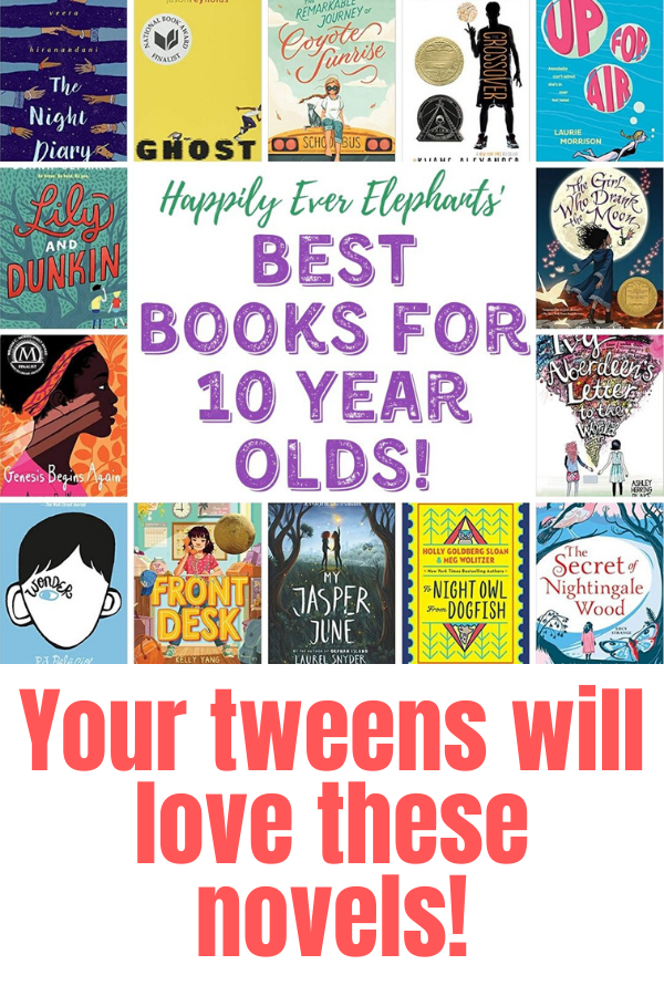 Best books for 10 year olds - your tweens will love these novels!.png