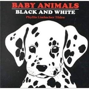 Black and White Books for Newborns, Baby Animals Black and White