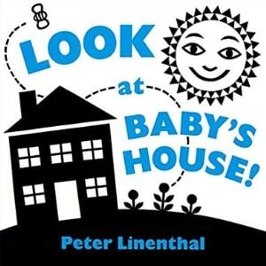 Black and White Books for newborns, Look at Baby's House