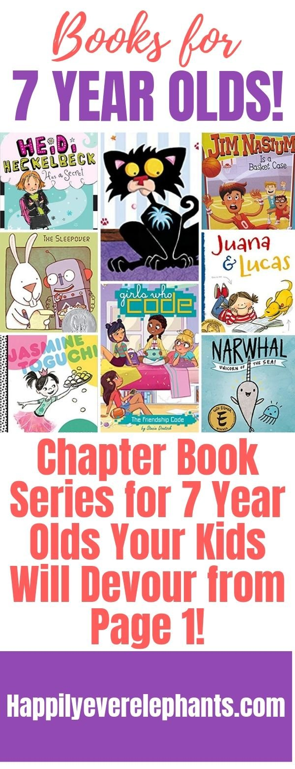 Chapter Books for 7 Year Olds My Students Devour from Page 1!