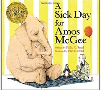 Children's Books About Friendship, A Sick Day for Amos McGee
