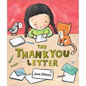 Children's Books About Gratitude, The Thank You Letter