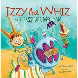 Children's Books About Passover, Izzy the Whiz and Passover McClean