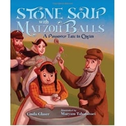 Children's Books About Passover, Stone Soup with Matzoh Balls