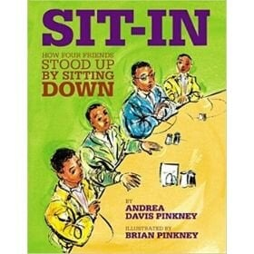 children's books about racism, sit in