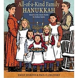 Children's books about hanukkah, All of a Kind Family Hanukkah.jpg