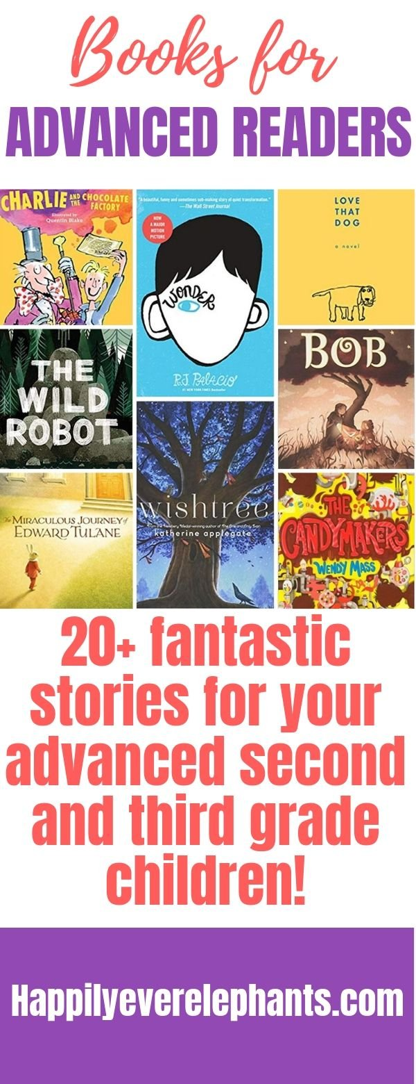 Fabulous Books for Advanced Readers in Second and Third Grades!