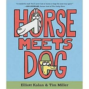Funny Children's Books, Horse Meets Dog