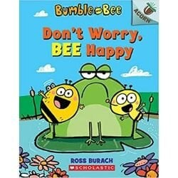 Graphic Novels for Tweens, Don't Worry Bee Happy.jpg