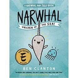 Graphic Novels for Tweens, Narwhal and Jelly.jpg