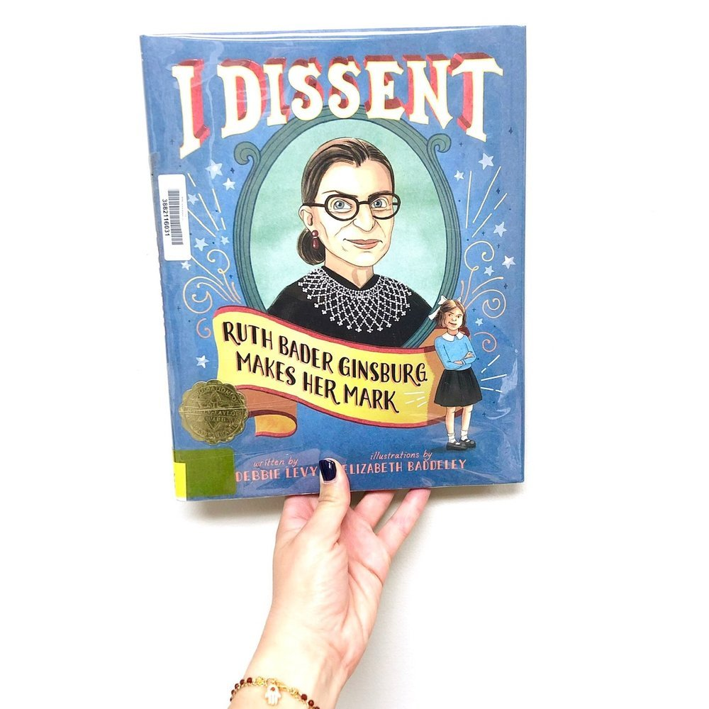 Mighty Girl Books: Ruth Bader Ginsburg Makes her Mark. One of the best children's picture books about perseverance, grit, and determination!