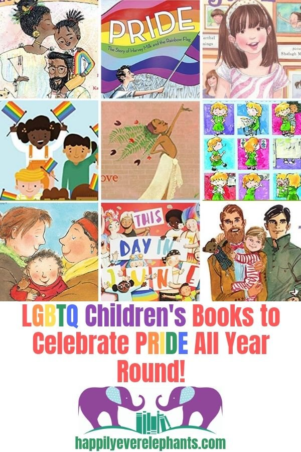 LGBT Children's Books to Celebrate All Beautiful Forms of Love & Identity