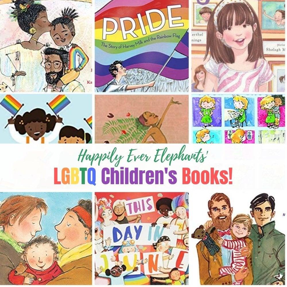 LGBTQ Children's Books to celebrate PRIDE all year round!