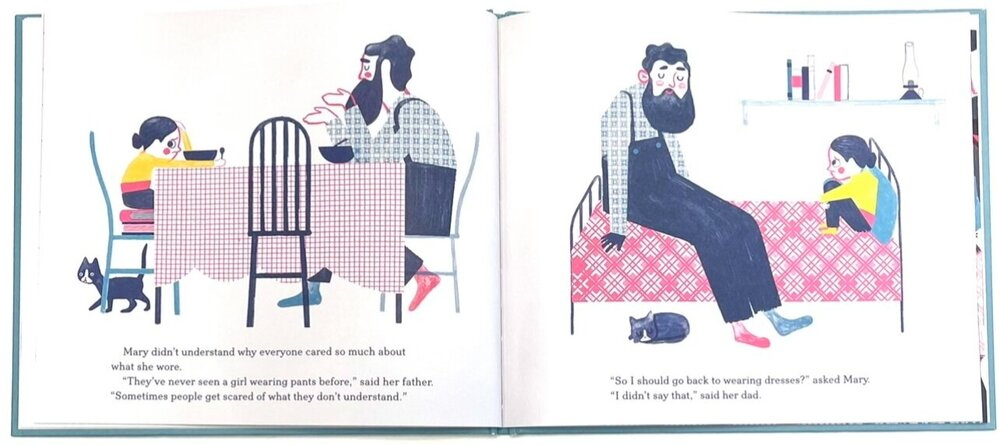 Mary wears what she wants, Keith Negley