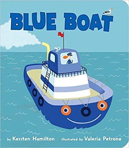 Unique Board Books, Blue Boat