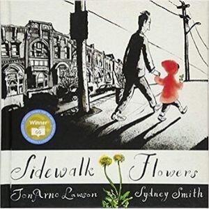 Wordless Picture Books, sidewalk flowers.jpg