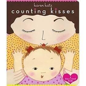 baby books for girls, counting kisses.jpg