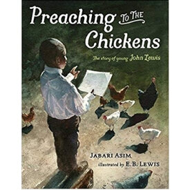 children's books about racism, preaching to the chickens.jpg