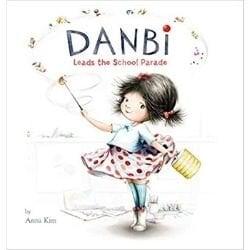 first day of school books, danbi leads the school parade.jpg