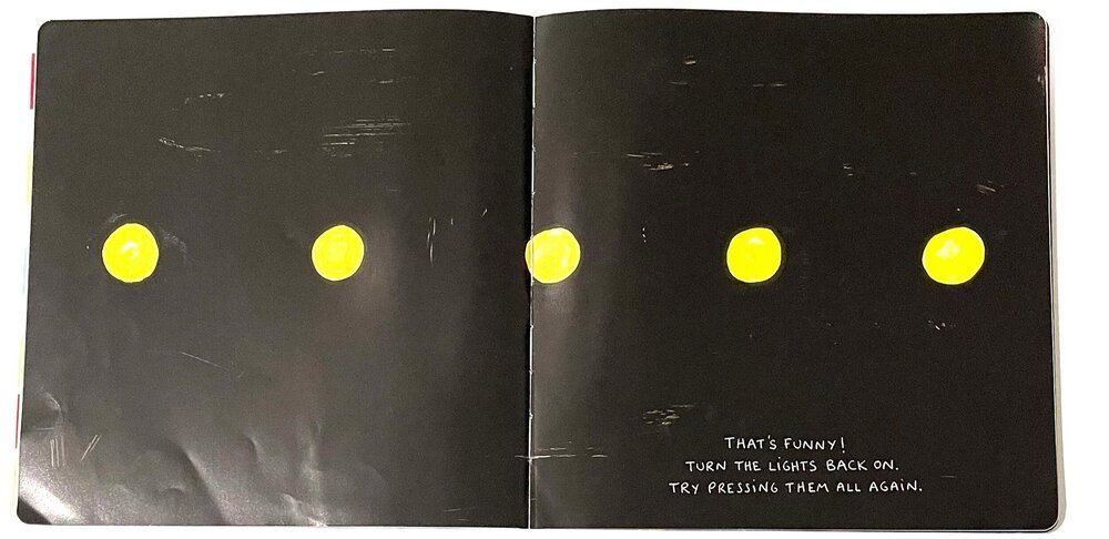 Herve Tullet's Press Here Book