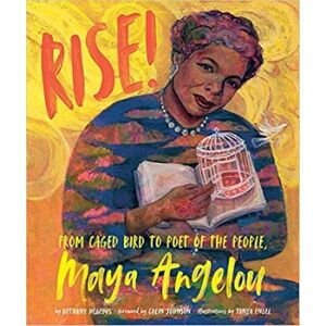 kids books for black history month, Rise! From Caged Bird to Poet of the People