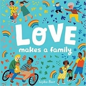 picture books about love, love makes a family