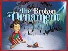 christmas books for kids, the broken ornament