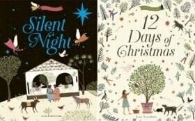 Christmas Books for Kids, Silent Night and 12 Days of Christmas