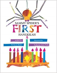 Children's Books About Hanukkah, Sammy Spider's First Hanukkah!