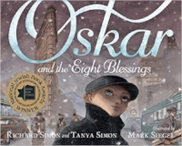 Children's Books About Hanukkah, Oskar and the Eight Blessings