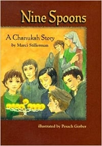 Children's Books About Hanukkah, Nine Spoons