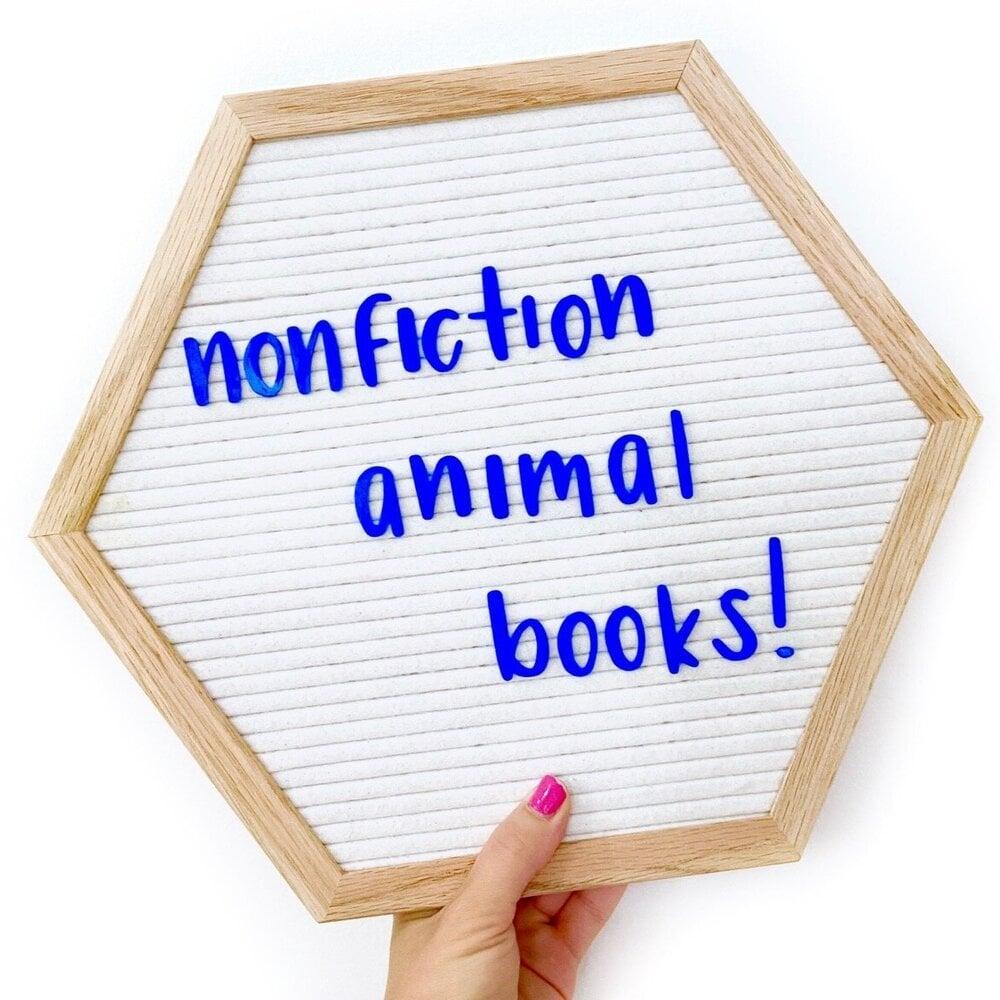 nonfiction animal books