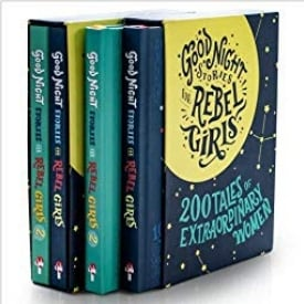 Books About Strong Girls Goodnight Stories for Rebel Girls