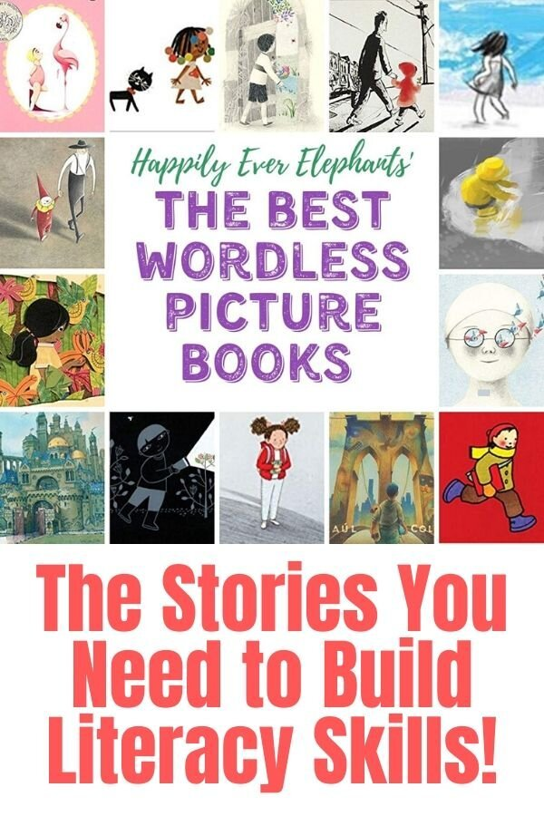 The Best Wordless Picture Books to Build Literacy and Storytelling Skills in Kids!