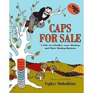 Best books for 2 year olds, Caps for Sale