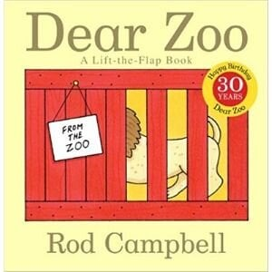 Best books for 2 year olds, Dear Zoo