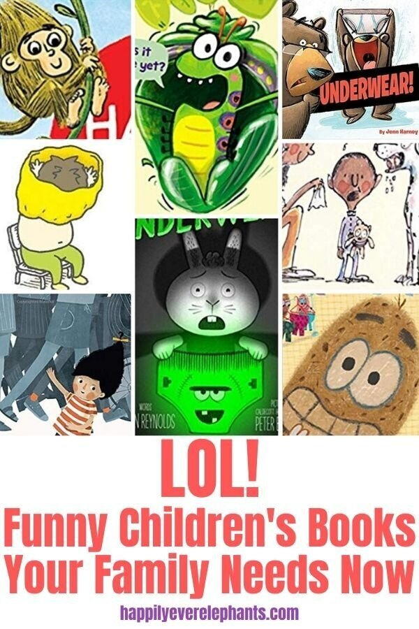 Funny Children's Books Your Family Needs Now!