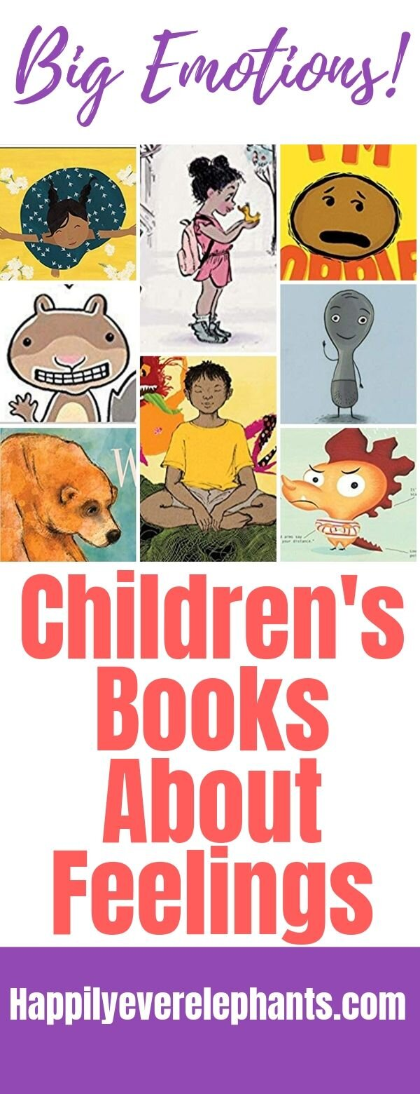 Our Favorite Children's Books About Feelings!