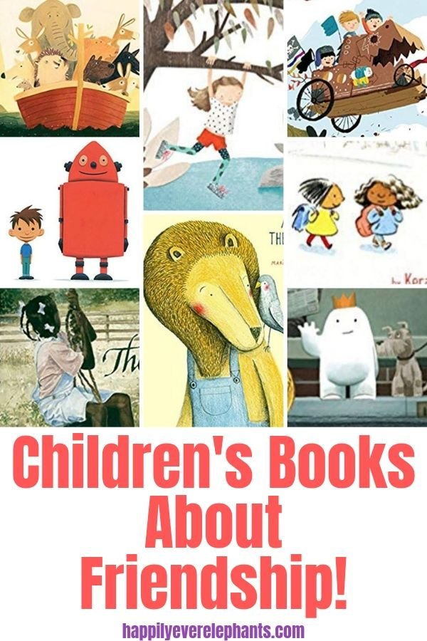 The Biggest and Best List of Children's Books About Friendship!