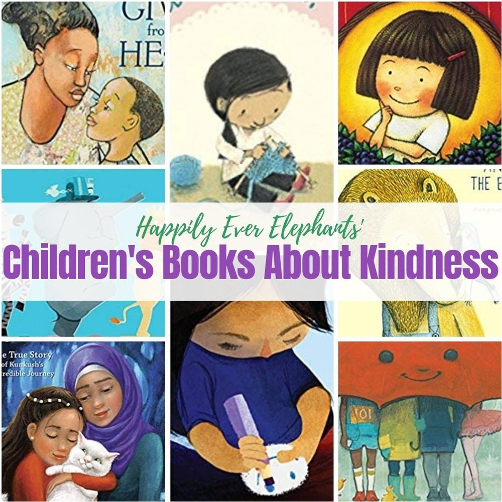 50 Children's Books About Kindness!