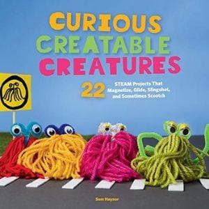 STEM Activity Books, Curious Creatable Creatures