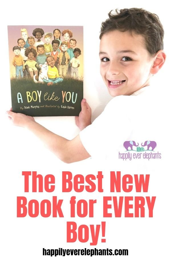 A BOY LIKE YOU by Frank Murphy, the best new book every young boy needs on his bookshelf!