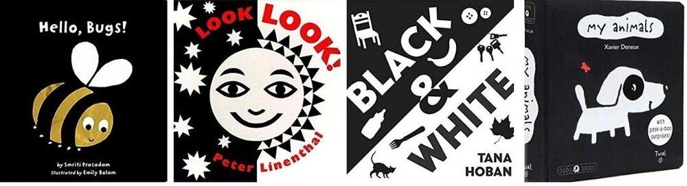 Black and White Books!