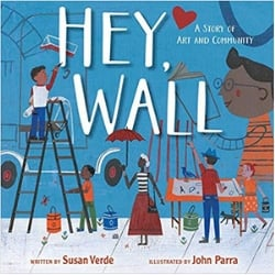 Multicultural Children's Picture Books, Hey Wall