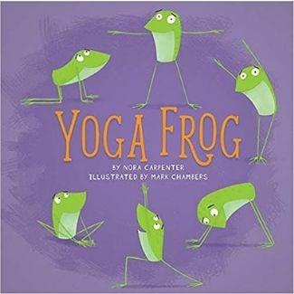 Mindfulness Books for Kids, Yoga Frog