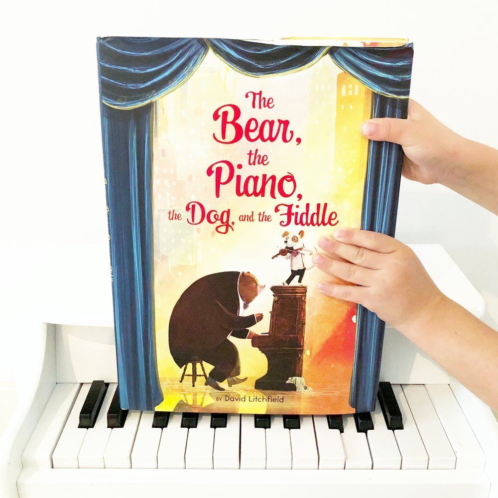 The Bear, The Piano, the Dog and the Fiddle, by David Litchfield