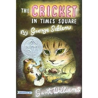 Books for Advanced Readers, 2nd and 3rd graders, The Cricket in Times Square