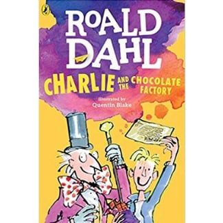 Books for Advanced Readers, second and third grade, Charlie and the Chocolate Factory